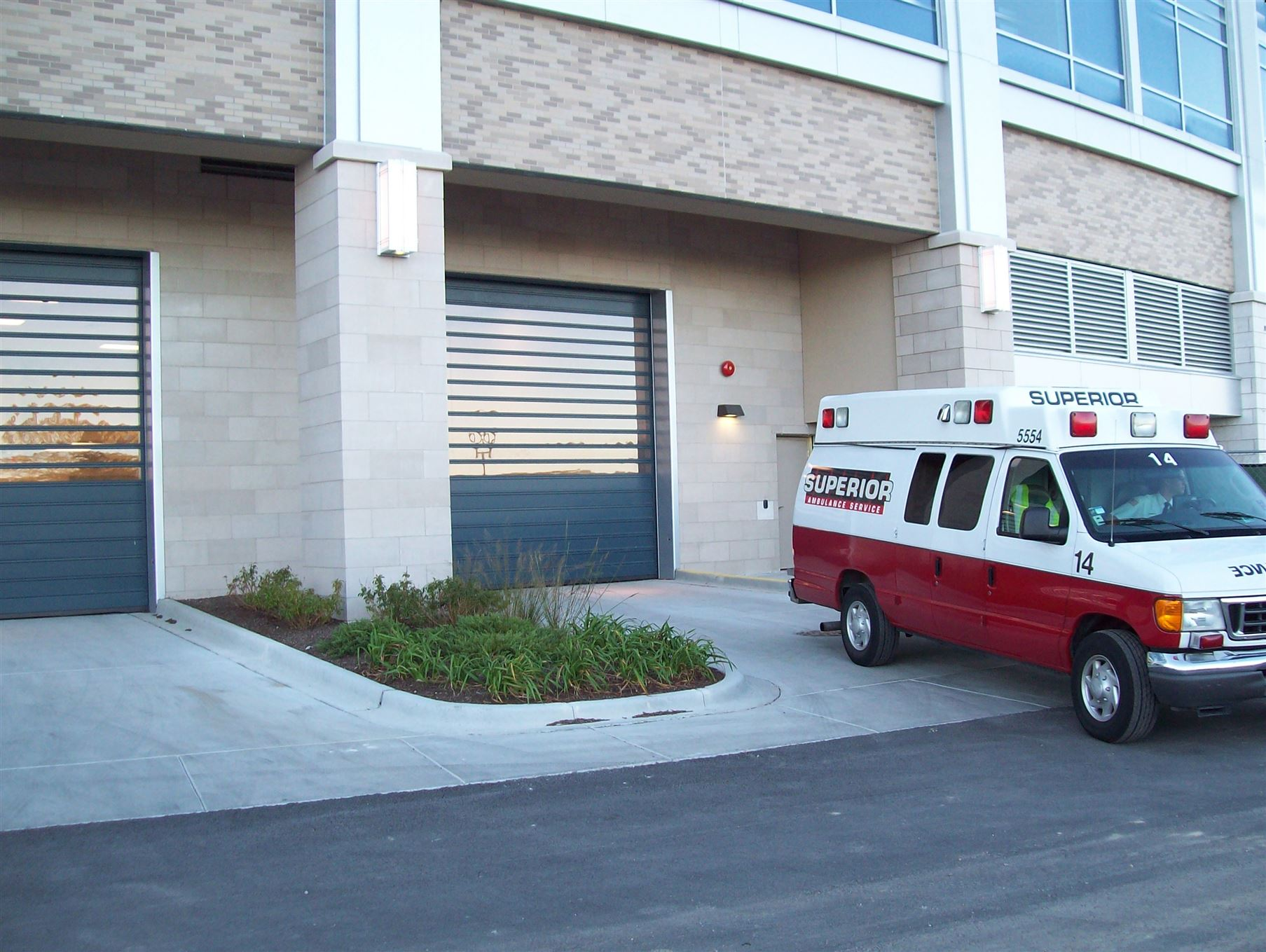 How high-performance doors keep first responders moving fast