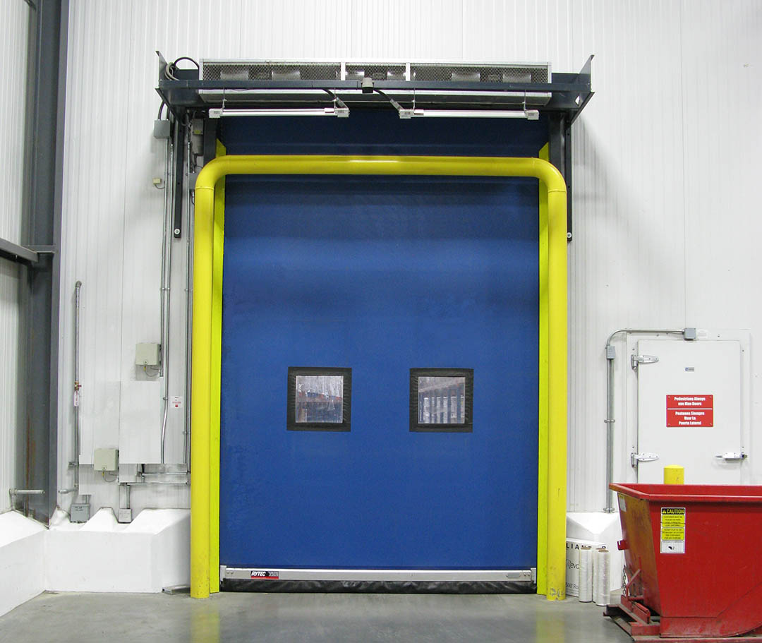 How to minimize frost build-up in cold storage environments