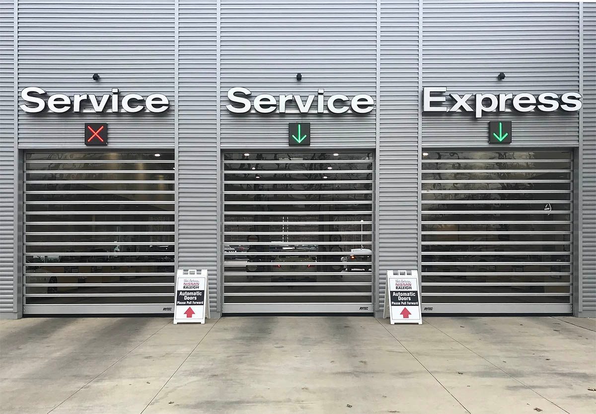 Choose the right doors to manage loading dock access