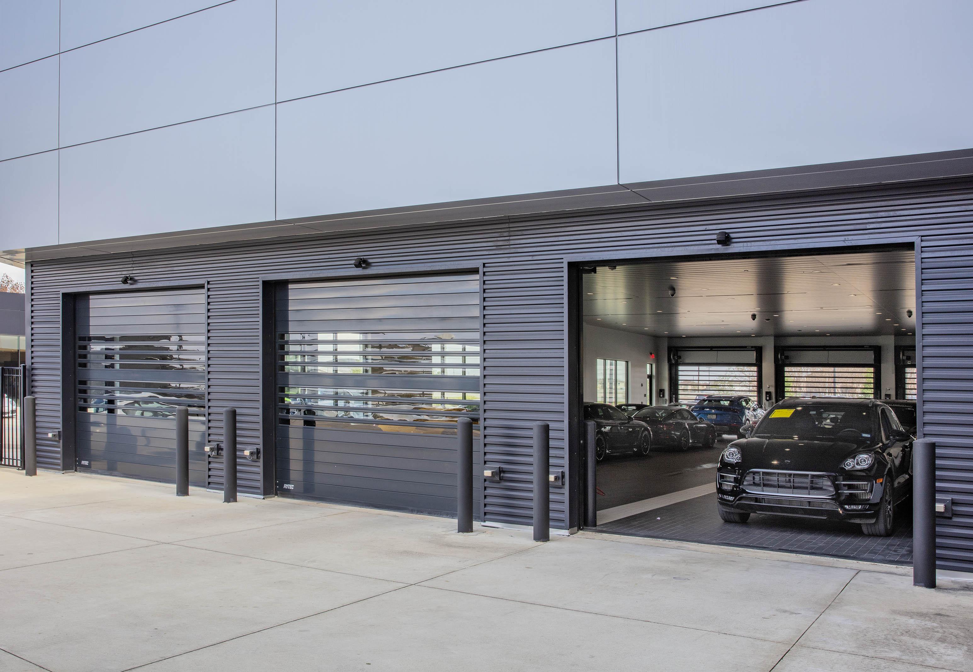 Dealerships Use High-Performance Doors