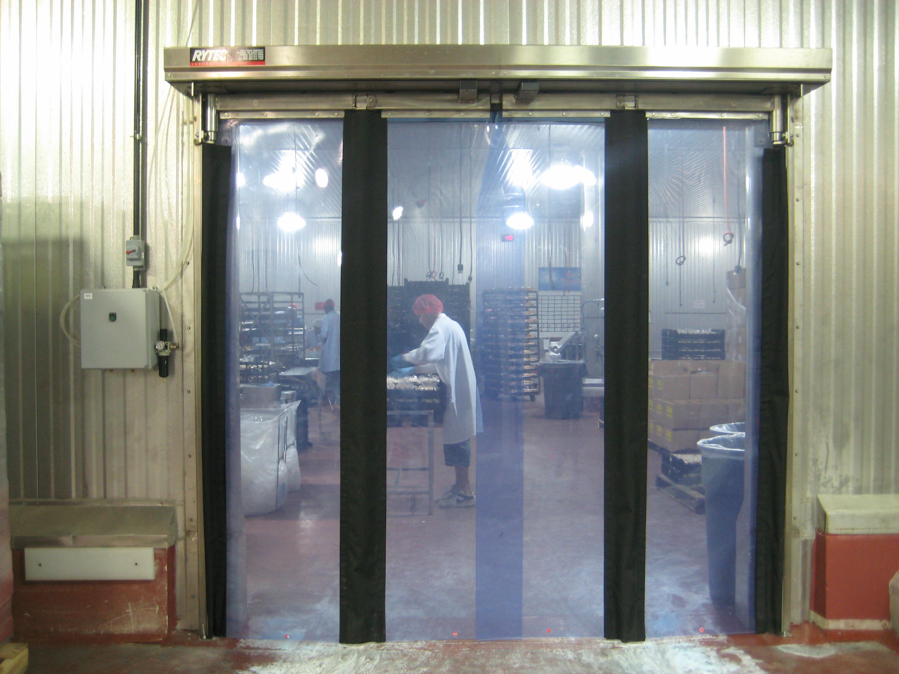Fast Fold 174 Pneumatic Stainless Steel Door Industrial