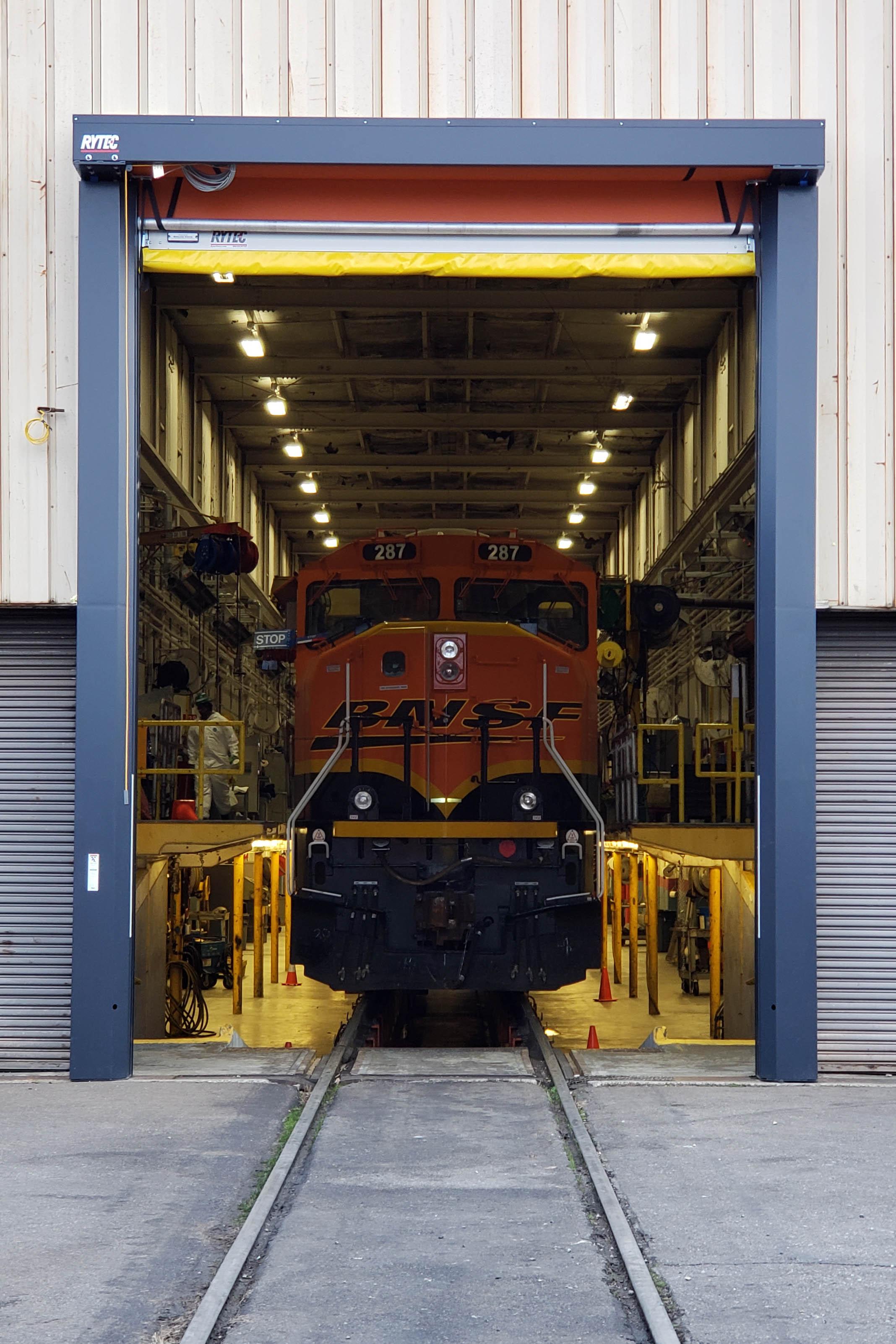 Heavy Equipment Doors