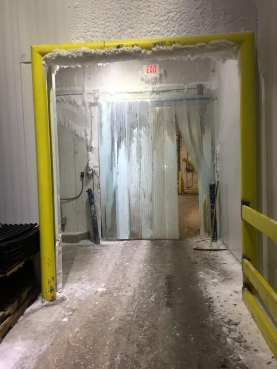 Old Cold Storage Door