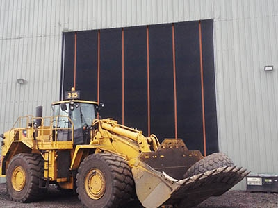 Heavy Equipment Requires Heavy-Duty Door