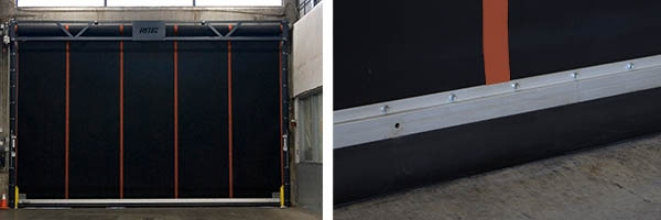 Heavy equipment requires heavy-duty doors