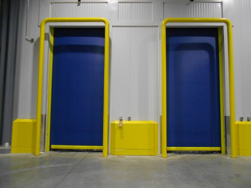 Improve cold storage energy efficiency with high-performance doors