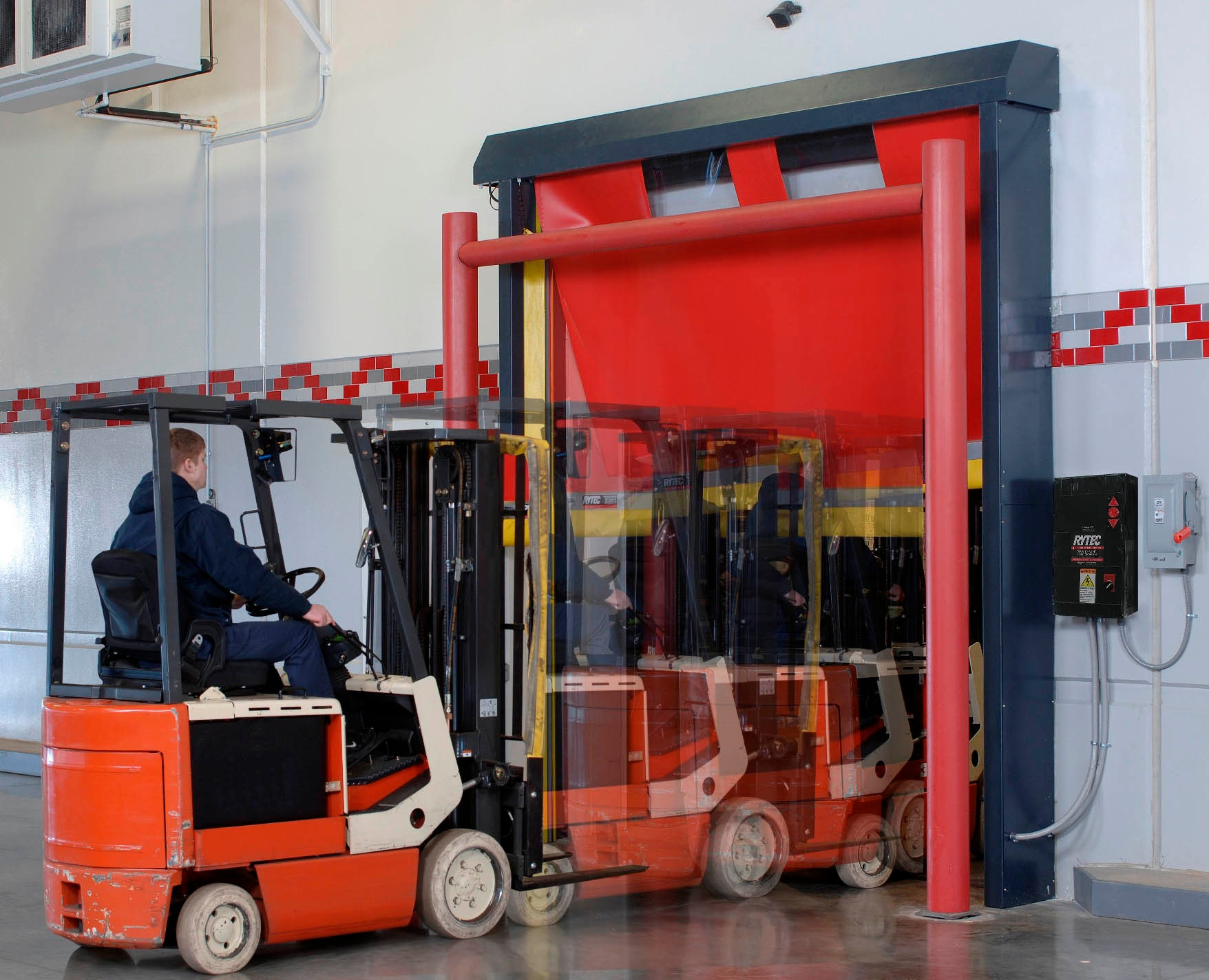 Keep Your Facility Productive with Self-Repairing Doors
