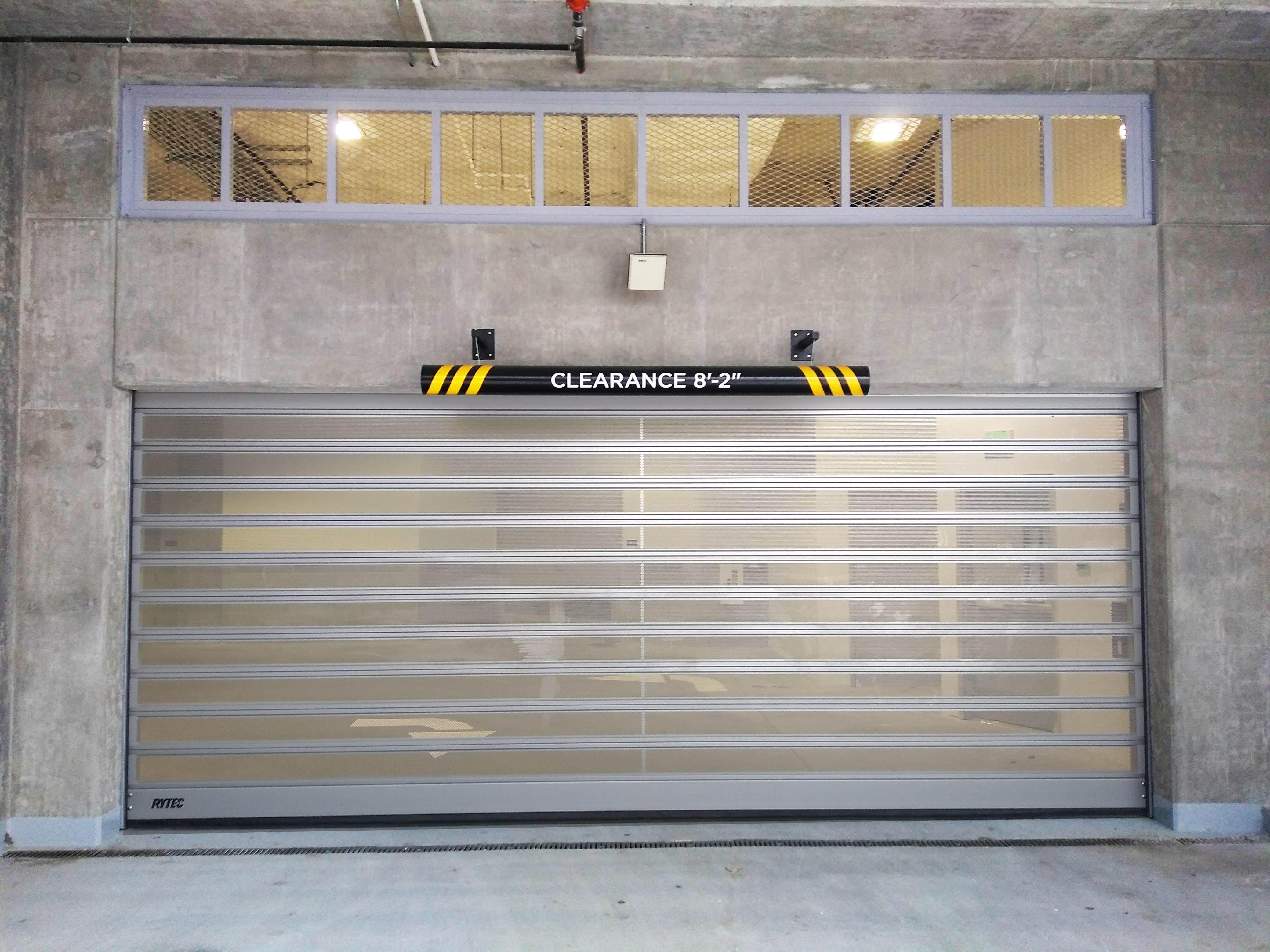 Ventilated Parking Doors