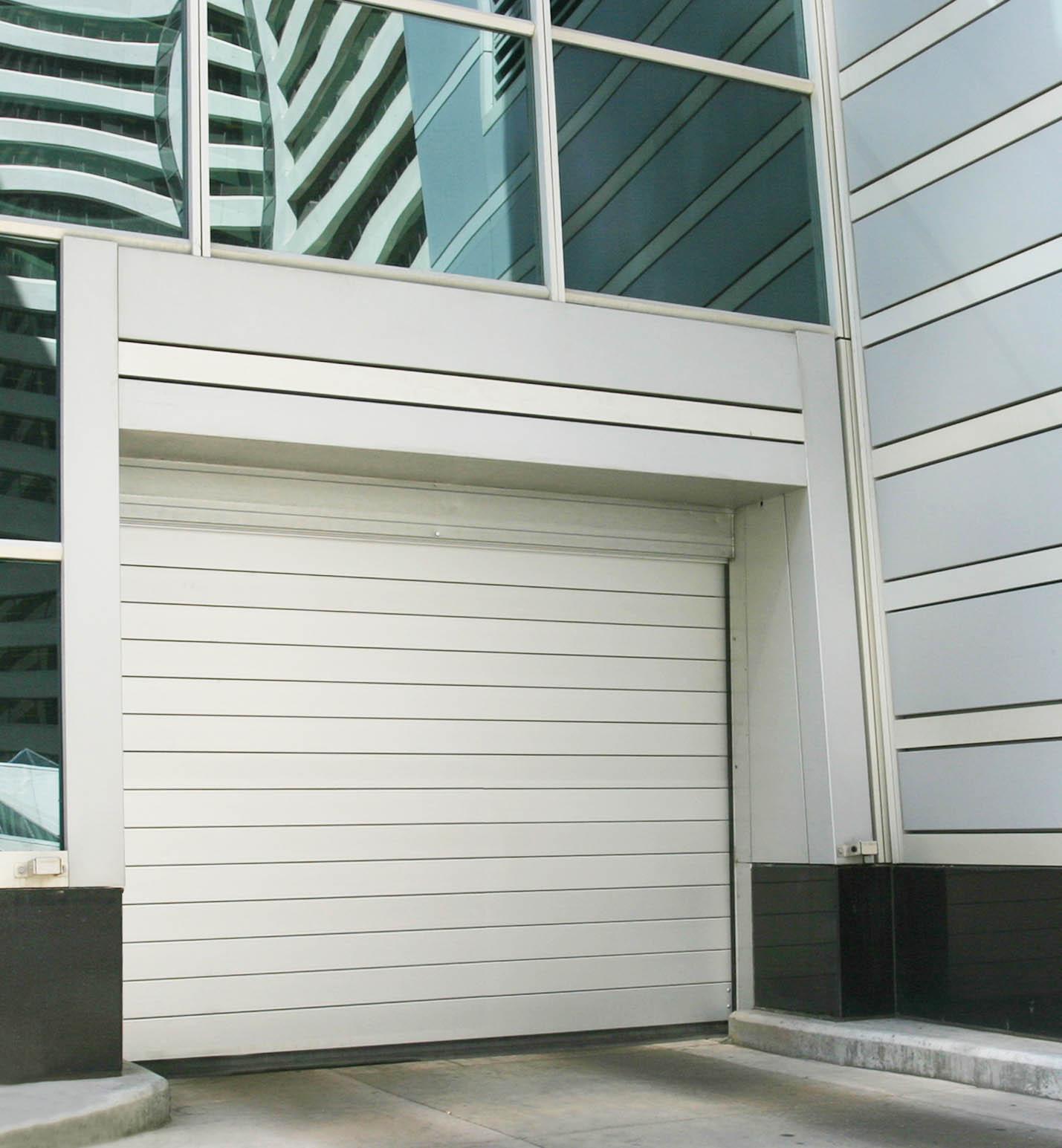 Rytec Spiral Parking Door