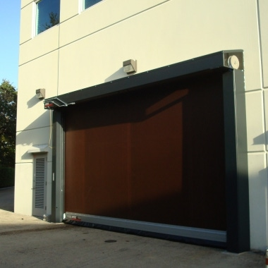 industrial rolling door