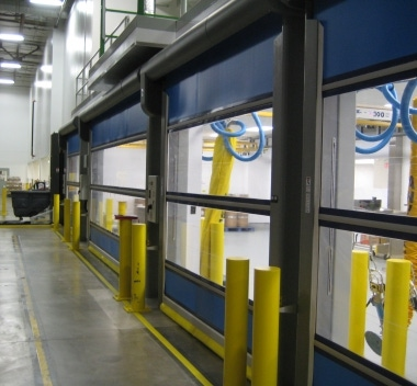 soft and flexible warehouse doors