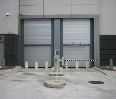 Spiral High Performance Door