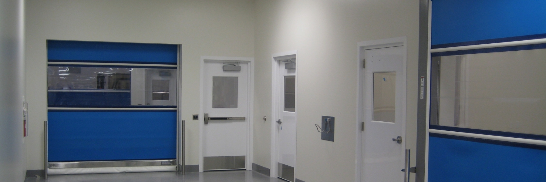 Pharmaceutical doors