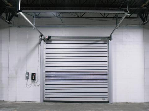 Low Profile Rigid Door