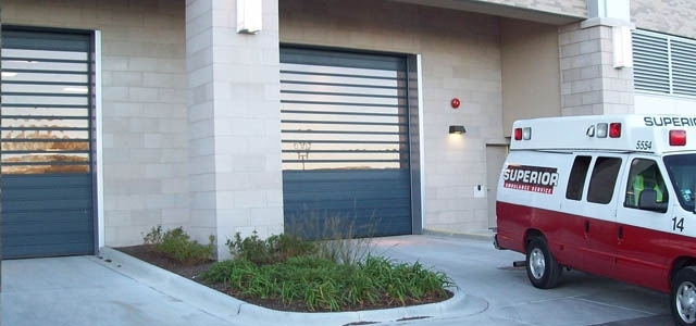 Rytec Doors keep first responders moving