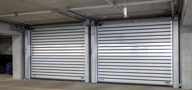 Low-headroom doors: An excellent solution for older buildings