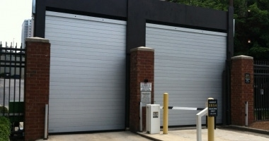 Rytec Spiral Parking Door