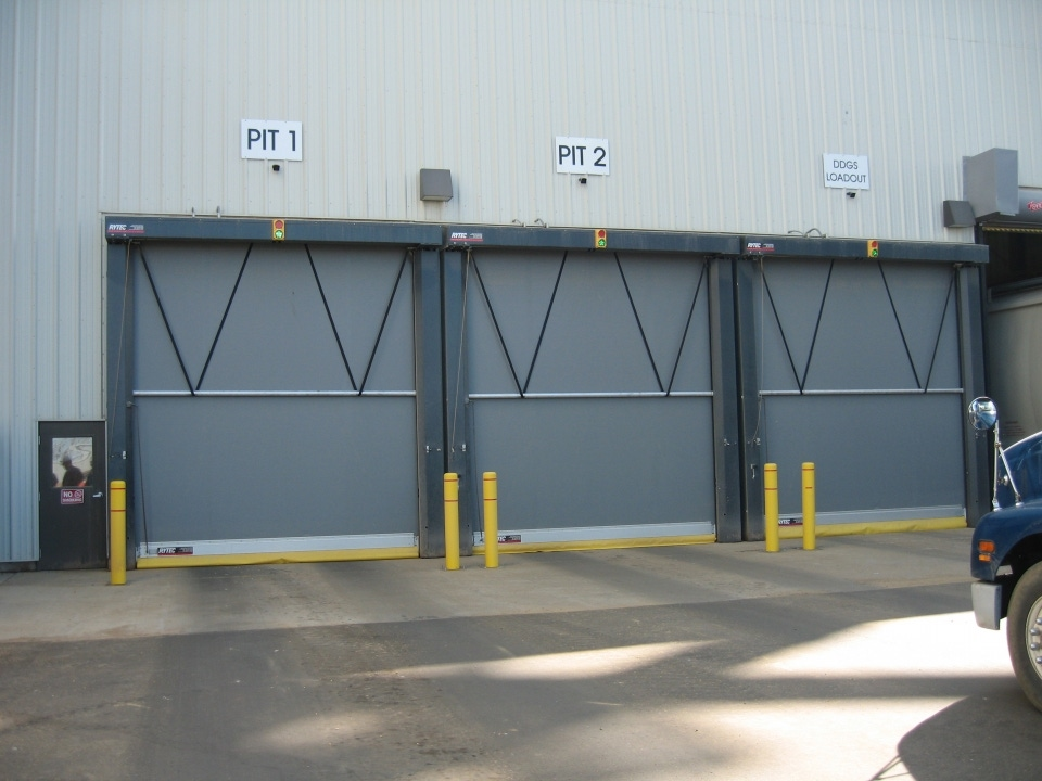 Roll Up Fabric Doors Rytec Fast Seal High Speed Roll