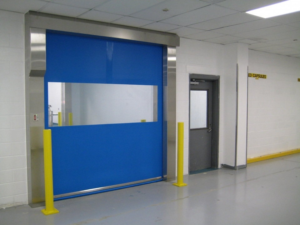 The High-Speed Roll Door Engineered for cGMP and \u0027Class-Rated\u0027 Facilities & Rytec Pharma Seal | Rytec Doors
