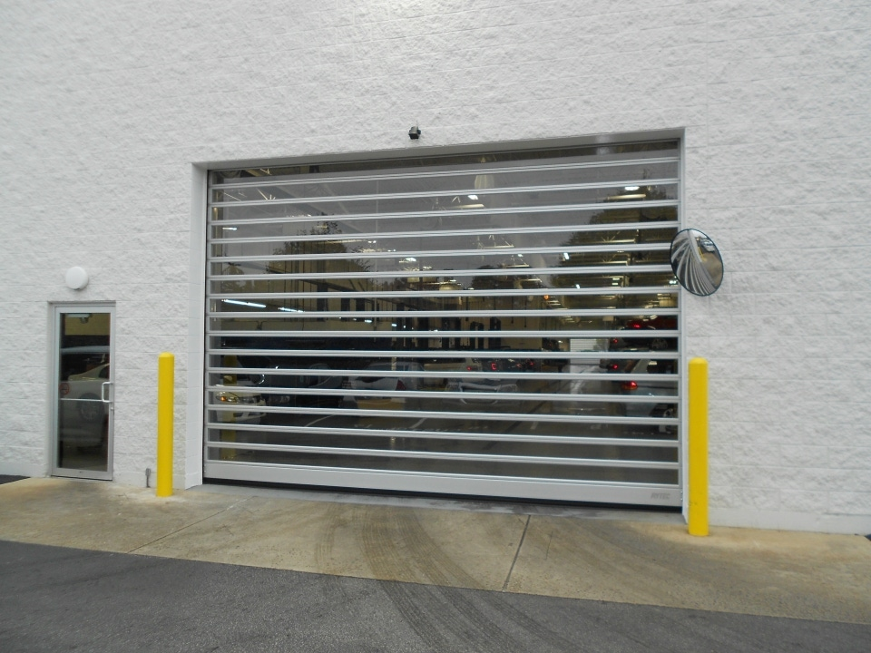 Rytec Spiral Fv Metal Security Doors Sliding Security