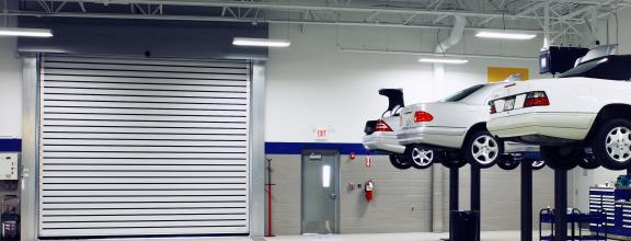 Automotive Dealership Doors
