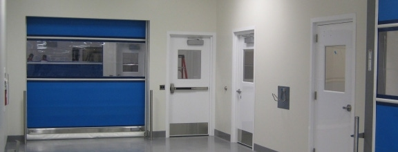 High-performance composite rolling door is a stainless steel alternative that provides an economical option for cGMP and food processing and other ... & Pharma Doors | Bio Doors | Speed Door | Rytec Doors pezcame.com