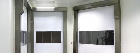 soft and flexible doors