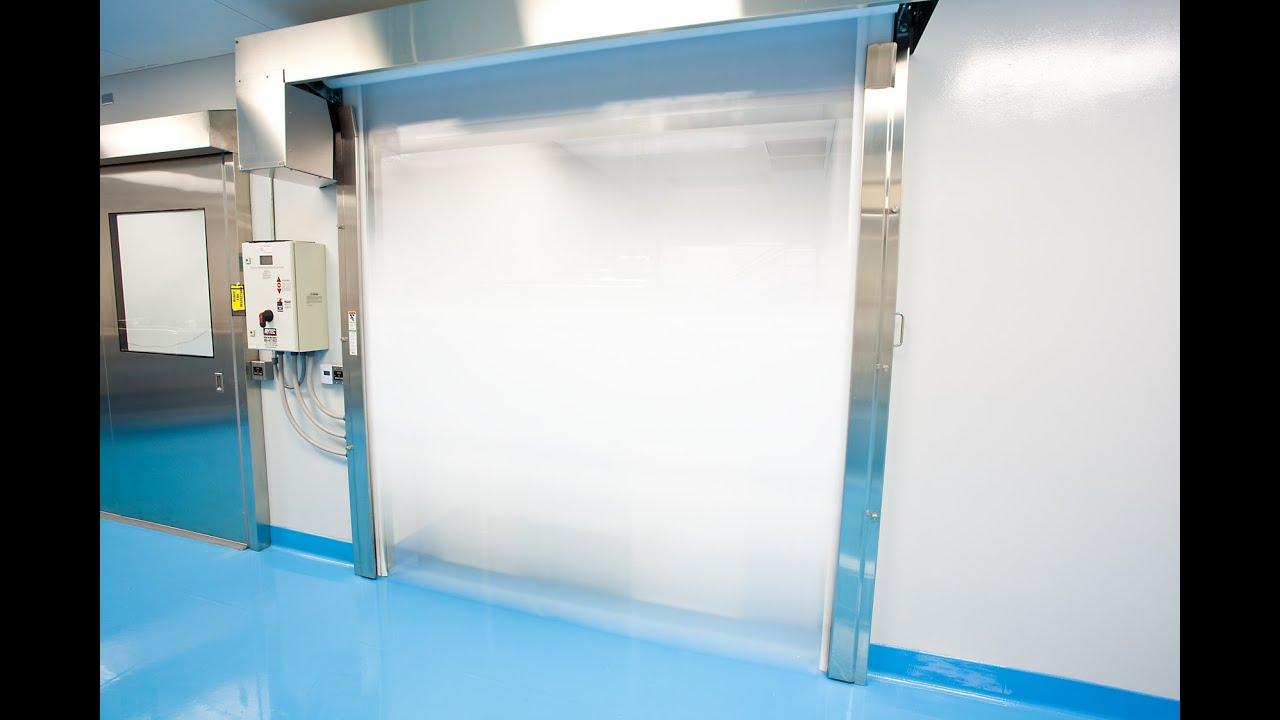 Direct drive motor and AC drive reduce maintenance and increase door longevity. & Pharmaceutical Doors | Rytec Pharma Roll Door | Rytec Doors