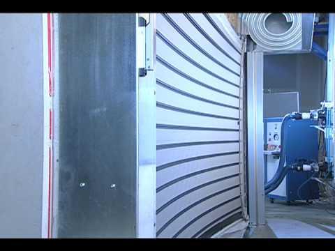 Rytec Spiral Hz Hurricane Garage Doors Rytec Roll Up
